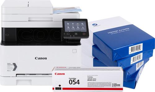Canon i-Sensys MF643Cdw + zwarte toner + A4 papier Main Image