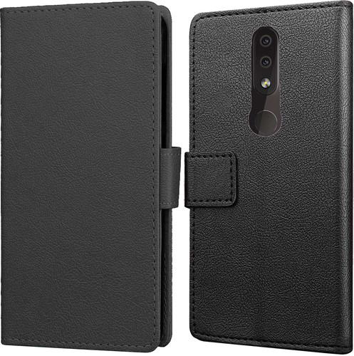Just in Case Wallet Nokia 4.2 Book Case Zwart Main Image