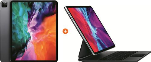 Apple iPad Pro (2020) 12,9 inch 256 GB Wifi Space Gray + Magic Keyboard Main Image