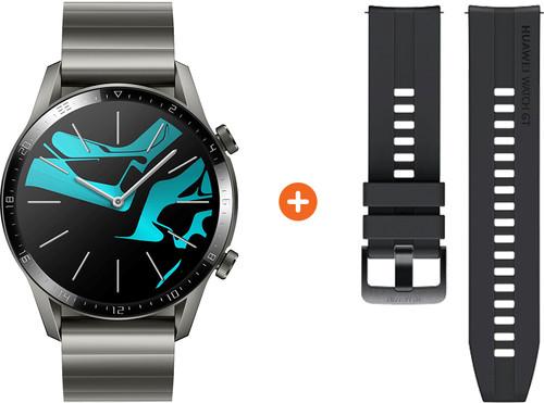 Huawei Watch GT 2 RVS Gray 46mm Main Image
