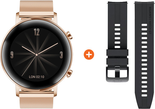 Huawei Watch GT 2 Stainless Steel Rose Gold 42mm Main Image