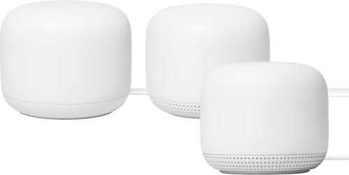 Google Nest WiFi White Multi-room WiFi 3-pack Main Image