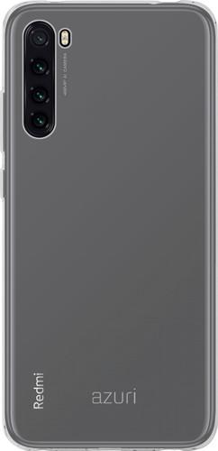 Azuri TPU Xiaomi Redmi Note 8T Back Cover Transparant Main Image