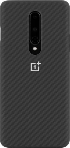 OnePlus 8 Karbon Bumper Back Cover Zwart Main Image