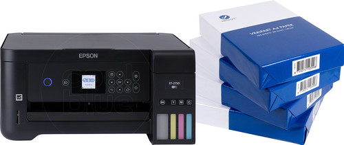 Epson EcoTank ET-2750 Unlimited + A4 paper Main Image