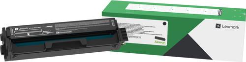 Lexmark C3220K0 Black Return Program Print Cartridge Main Image