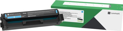 Lexmark C332 Toner Cartridge Cyan (High Capacity) Main Image