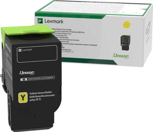 Lexmark C242X Toner Cartridge Yellow Main Image