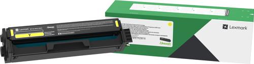 Lexmark C332 Toner Geel (Hoge Capaciteit) Main Image