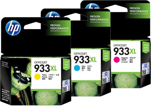 HP 933XL Cartridges Combo Pack Main Image
