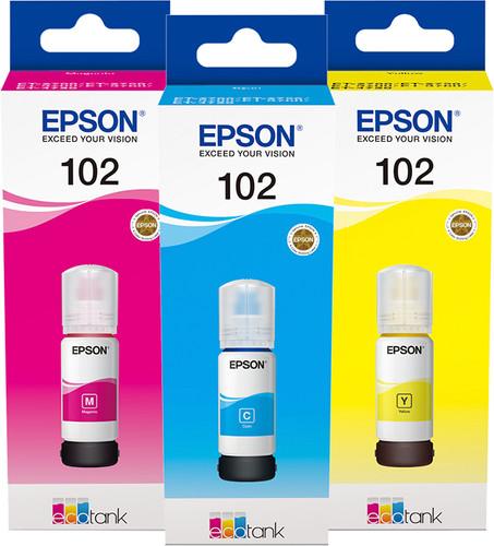 Epson 102 Ink Bottles Combo Pack Main Image
