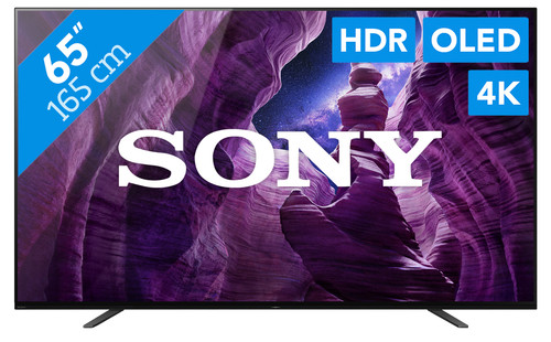 Sony OLED KD-65A8 (2020) - Coolblue - Before 23:59, delivered tomorrow