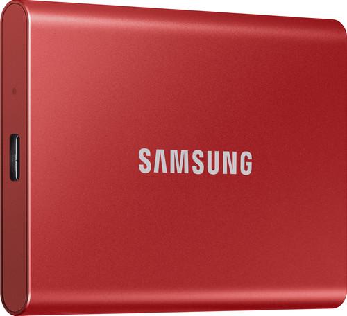 Samsung Portable SSD T7 500GB Rood Main Image
