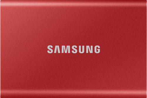 Samsung Portable SSD T7 500GB Red Main Image