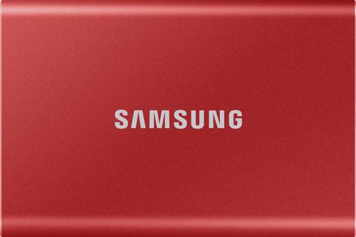 Samsung T7 Portable SSD 2TB Rood Main Image