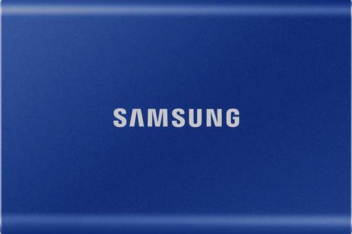 Samsung T7 Portable SSD 2TB Blauw Main Image