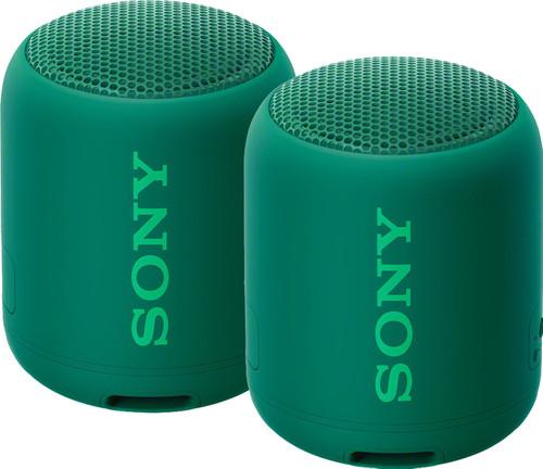 Sony SRSXB12 Duopack Groen Main Image