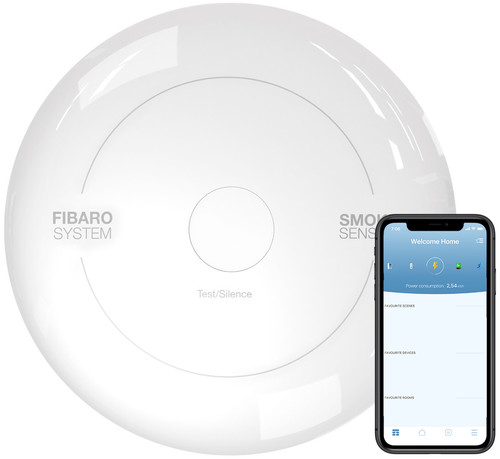 Fibaro Smoke Sensor (2 years) - Works with Toon Main Image
