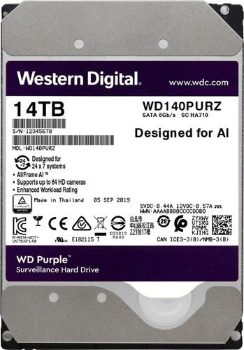 WD Purple WD140PURZ 14TB Main Image