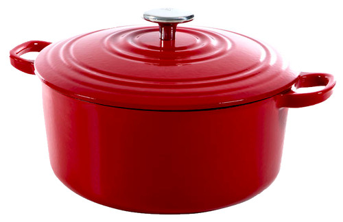 BK Bourgogne Dutch Oven 24cm Chili Red Main Image