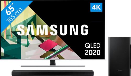 Samsung QLED 65Q74T + Soundbar Main Image