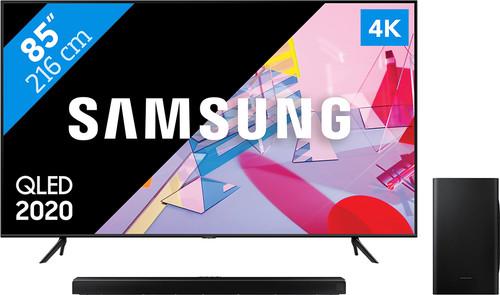 Samsung QLED 85Q60T + Soundbar Main Image