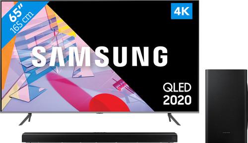 Samsung QLED 65Q64T + Soundbar Main Image
