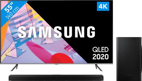 Samsung QLED 55Q64T + Soundbar Main Image