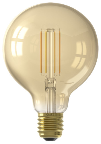 Calex WiFi Smart G95 Globe Light Gold Filament E27 Main Image