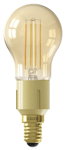 Calex WiFi Smart Spherical Light Gold Filament E14 Main Image