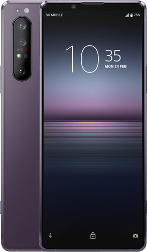 Sony Xperia 1 II 256GB Purple 5G Main Image