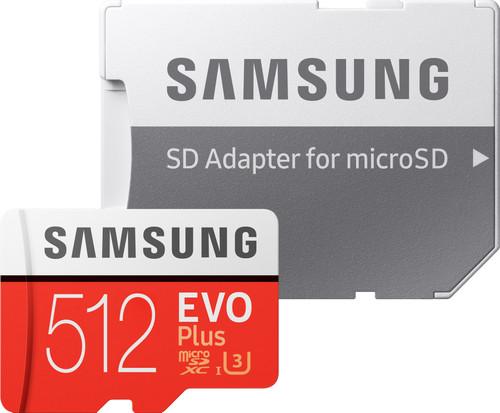 Samsung microSDXC EVO+ 512 GB 100MB/s CL 10 + SD adapter Main Image