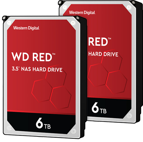 WD Red WD60EFAX 6TB Duo Pack - RAID 0 of 1 Main Image