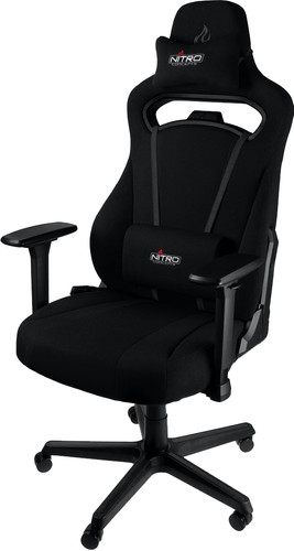 Nitro Concepts E250 Gaming Chair Black Main Image