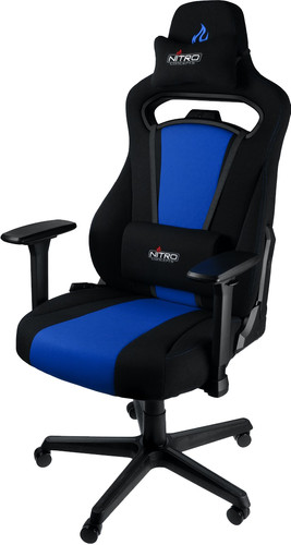 Nitro Concepts E250 Gaming Chair Black/Blue Main Image