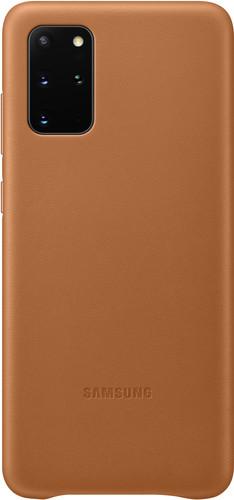 Samsung Galaxy S20 Plus Back Cover Leer Bruin Main Image
