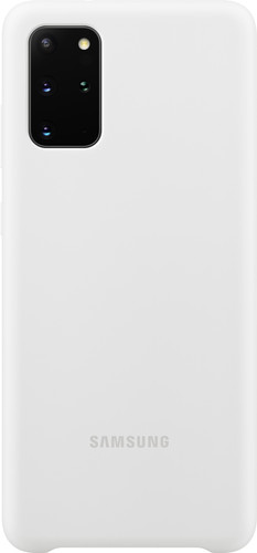 Samsung Galaxy S20 Plus Back Cover Siliconen Wit Main Image