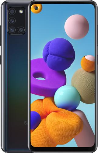 Samsung Galaxy A21s 64GB Zwart Main Image