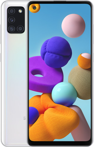 Samsung Galaxy A21s 64GB Wit Main Image