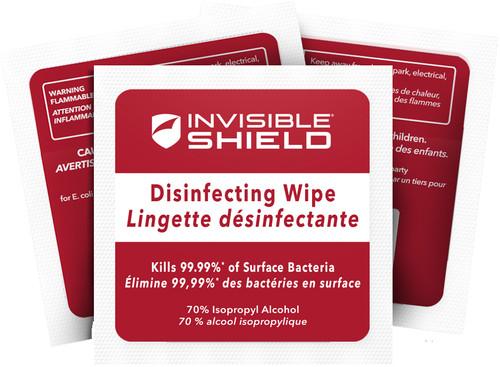 InvisibleShield Antibacteriële Schoonmaakdoekjes 10 stuks Main Image