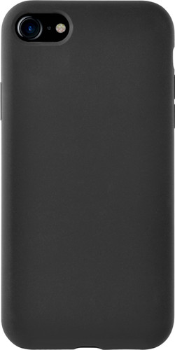 Azuri Apple iPhone SE 2 / 8 / 7 / 6 / 6s Back Cover Siliconen Zwart Main Image