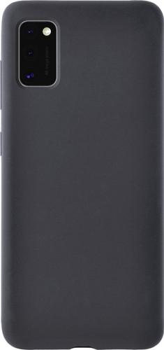 Azuri Samsung Galaxy A41 Back Cover Siliconen Zwart Main Image