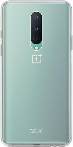 Azuri TPU OnePlus 8 Back Cover Transparant Main Image