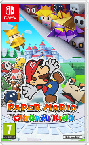 Paper Mario: The Origami King Main Image