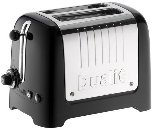 Dualit Lite Gloss 2-lock Black Main Image