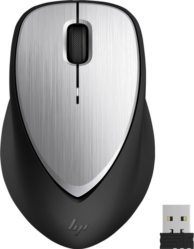 HP ENVY Rechargeable Mouse 500 Black Silver Main Image