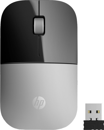 HP Z3700 Wireless Mouse Silver Main Image