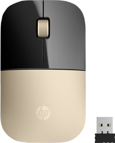 HP Z3700 Wireless Mouse Gold Main Image