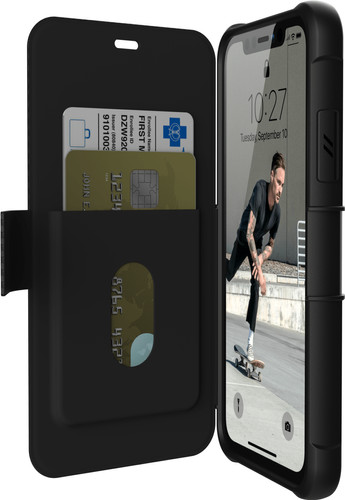UAG Metropolis Apple iPhone 11 Book Case Zwart Main Image