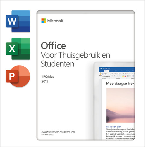 Microsoft Office 2019 Home and Student EN Main Image